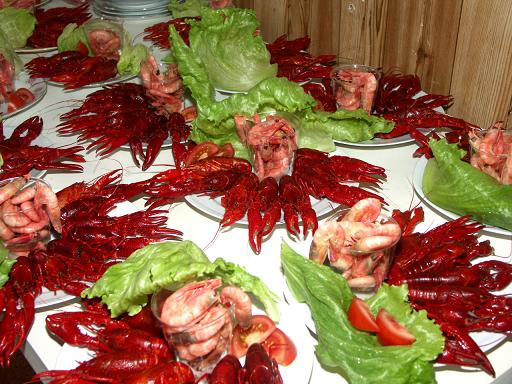 Swedish crayfish party (kräftskiva)